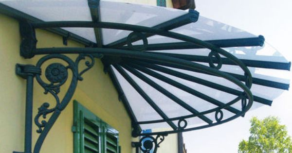 Wrought Iron Canopy For Doors And Windows Liberty E Belle Epoque Gibus Pergola Patio Door Awnings White Pergola