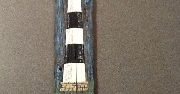 Bodies Island Lighthouse Painting On Driftwood Creations