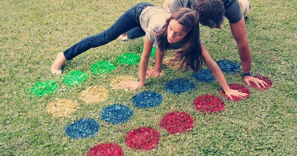 Idea of the day: Lawn twister!