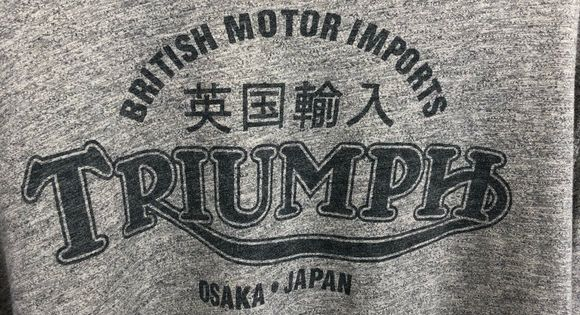 lucky brand vintage long sleeve sz 2xl o25 men s lucky brand vintage inspired t shirt triumph graphic tee soft cotton short sleeve lucky brand branded shirts long sleeve pinterest