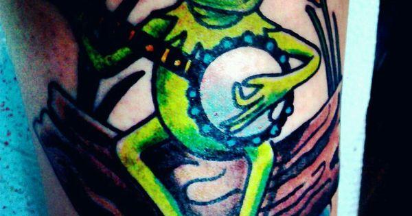 my kermit the frog tattoo frog tattoos pinterest frog tattoos tattoo and tatting. Black Bedroom Furniture Sets. Home Design Ideas
