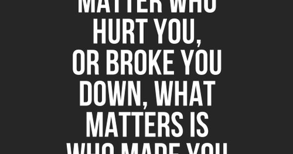 Truth quotes frases -- the ones who matter are the ones who