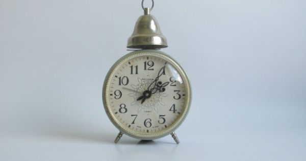 Soviet Alarm Clock Jantar Union Nice Design And