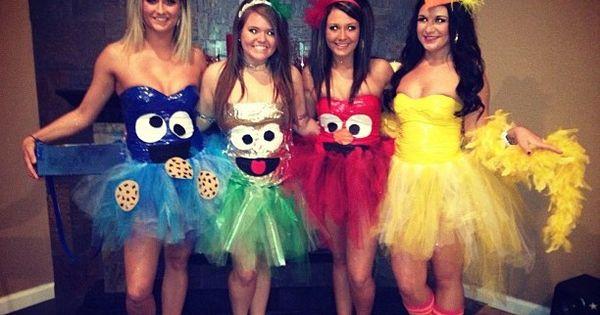 Sesame Street Costumes Homemade for girls Halloween Costumes