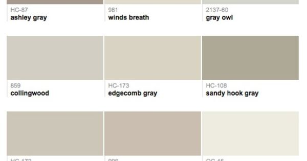 Best selling popular shades of gray light neutral for Light neutral grey paint