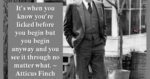 Atticus Finch Life Lessons Quotes
