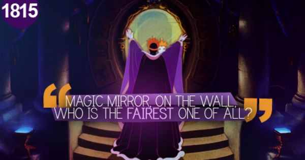 1815 Magic Mirror On The Wall Who Is The Fairest One Of All
