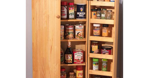 Simple Living Pine Utility Kitchen Pantry By Simple Living Pinterest Kitchen Pantry Cabinets