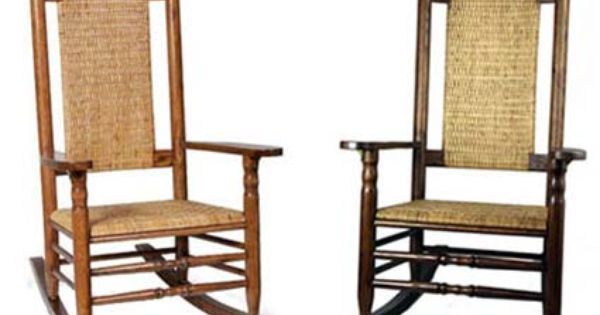 Authentic Kennedy Presidential Rocker Manufacturered In