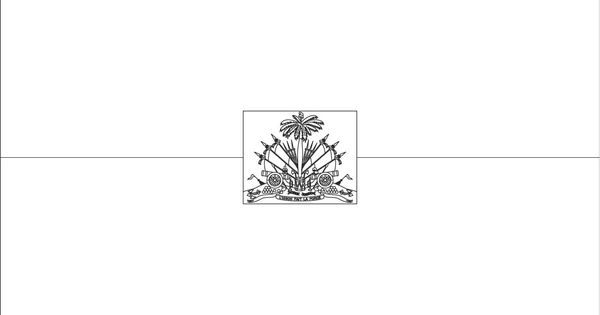 Haiti flag coloring page :: Sonlight Core C, Window on the ...