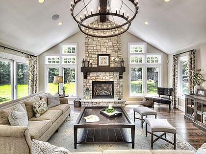 Great Room Addition Living Room Ideas Pinterest
