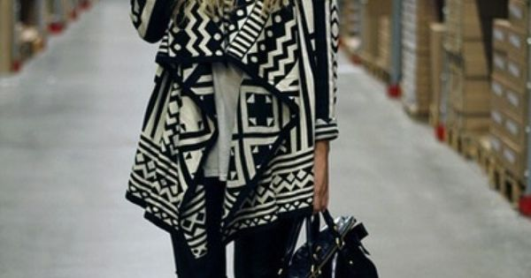 Black and White Tribal Print. urban outfitters