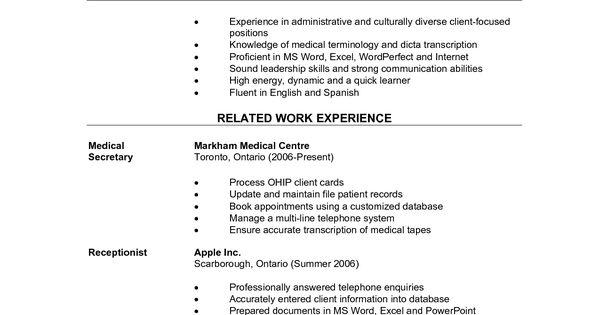 samples of a job application letter