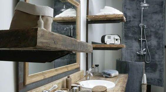 70 id es originales piquer pour relooker votre salle de bains id es originales les salles. Black Bedroom Furniture Sets. Home Design Ideas