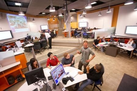 Classroom Design Higher Education : Next generation learning spaces site at the university of