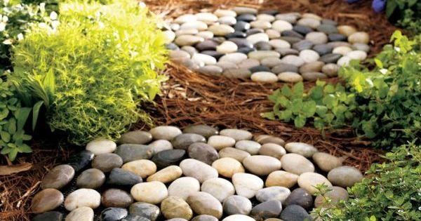 Decoraciones Con Piedras De Rio Lugar Zen