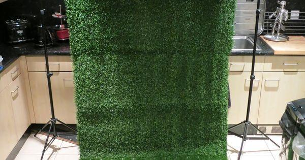 Artificial Grass Backdrop Diy Party Pinterest