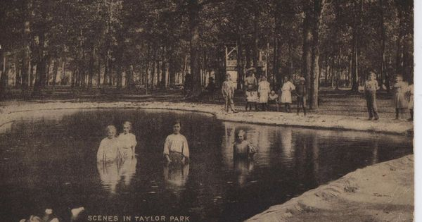 1911 b w n fond du lac wis taylor park ladies in water wearing dresses rare dresses us for North fond du lac swimming pool