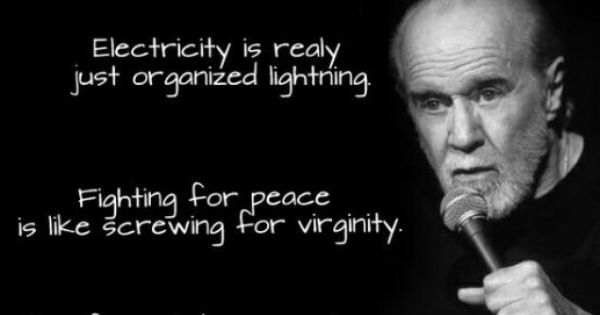 Rather fighting for peace is like screwing for virginity fantastic