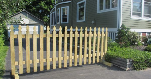 Sturdy Gate At The End Of Your Driveway Keeps Your Kids In