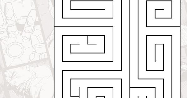 spiderman printables maze marveljpg