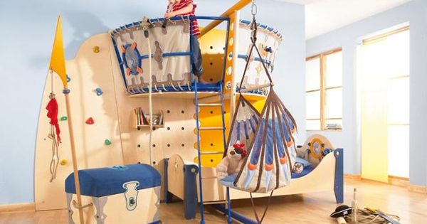 Piratenbett kinderkram pinterest kinderzimmer - Piratenbett kinderzimmer ...