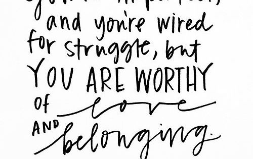 Brene Brown with the truth // quotes