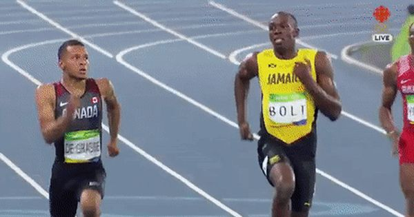 Usain Bolt And Andre De Grasse Laugh Their Way In 200m Final Http
