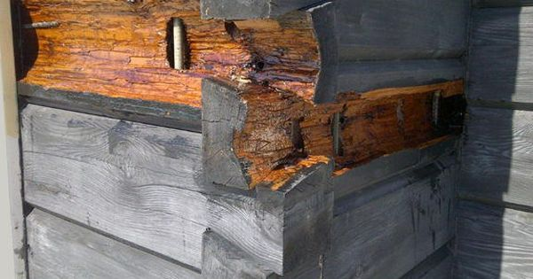 Dealing With Log Home Dry Rot Fanciful Rustic Home