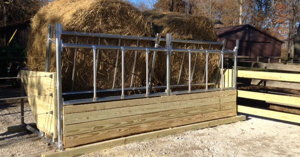 Klene Pipe S Bk 6 Fence Line Cattle Hay Feeder 12 Model