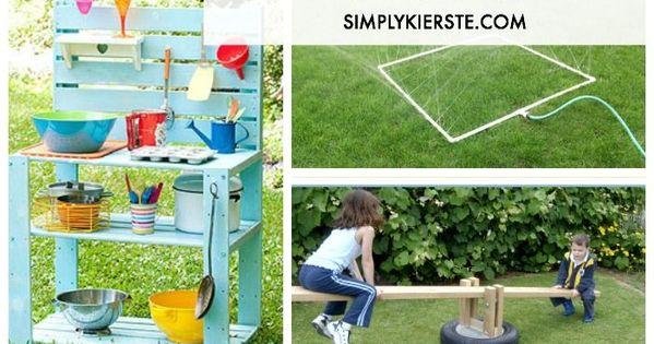 DIY Backyard Ideas for Kids | Backyard Ideas For Kids, Diy Backyard