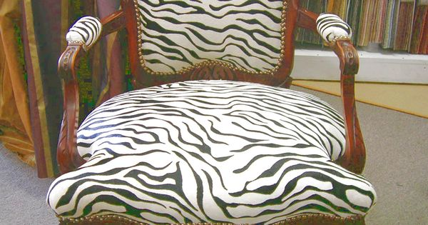 Zebra printed hair on hide chair c c leathers pinterest zebras
