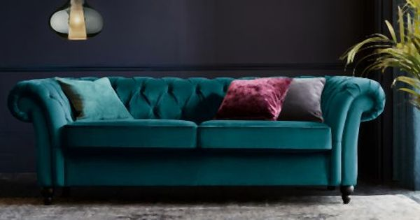 Deep Blue Walls And Teal Sofa With Warm Tones Blue Livingroom Blue Living Room Blue Walls Living Room Mid Century Living Room Decor
