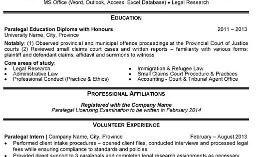 click here to download this legal assistant resume