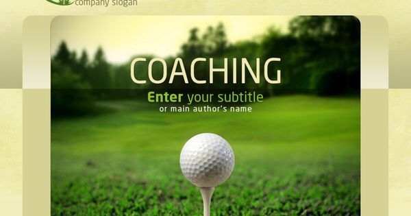 Golf Powerpoint Template In Golf Gift Certificate Template In 2020 Certificate Templates Gift Certificate Template Powerpoint Templates