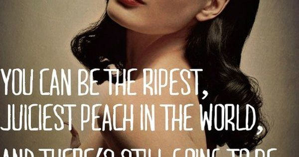 suicideblonde: We reference this quote a lot in discussions about ppl's opinions online.  Dita