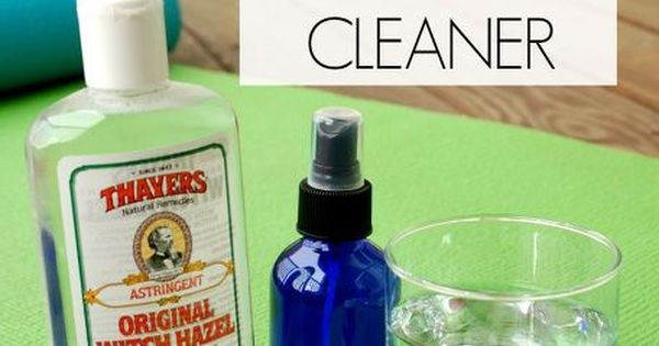 Diy Natural Yoga Mat Cleaner Witch Hazel Witches And