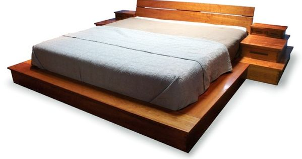 Platform Bed Large Mark Love Custom Furniture Custom Designed Handmade Wood Furniture Austin