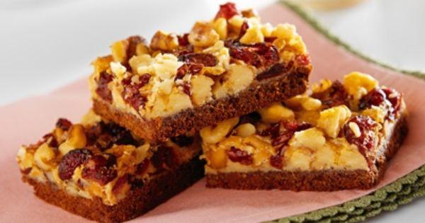 ... Bars Recipe | Brownies & Bars Recipe | Pinterest | Cranberries, Bar