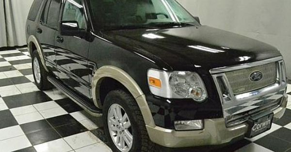 2010 Ford Explorer Eddie Bauer Black Fargo Nd Ford Explorer