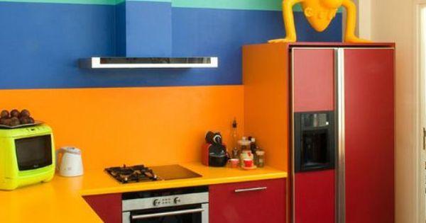 erreurs déco à éviter en cuisine cuisine trop colorée | cuisines ...