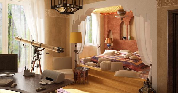 40 Moroccan Themed Bedroom Decorating Ideas ...