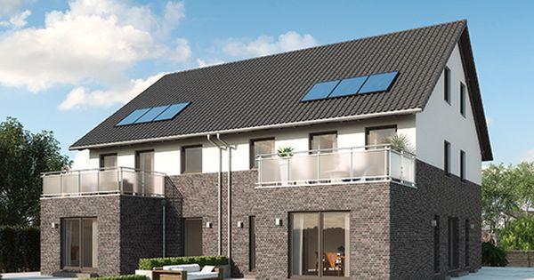 modelle monza 2 5 geschossiges doppelhaus mit einliegerwohnung moderne fassaden optik in. Black Bedroom Furniture Sets. Home Design Ideas
