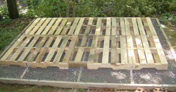 Pallet Projects Outdoor Garden Decks