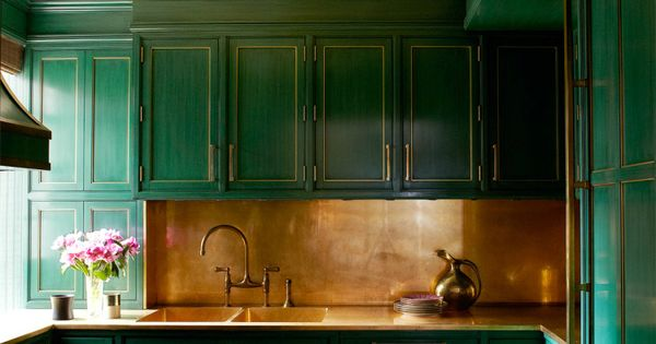 Color Of The Year 2017 By Pantone Is Greenery Kitchen