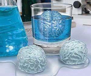 Brain Freeze Ice Cubes Frozen Ice Cube Freeze Ice Brain Freeze