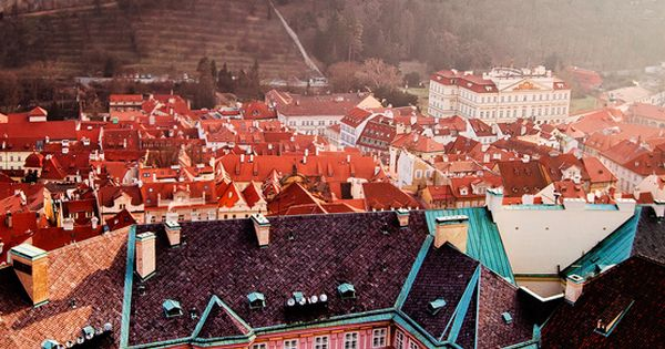 This photo looks like a fairy tale. The Czech Republic - Prague: