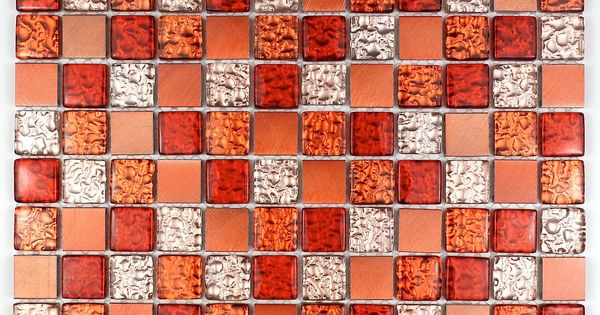 Mosaic For Bathroom And Shower Glass And Aluminum Ma Nom Ora15 60 Length 11 81 In Width 30 Cm Thickne In 2020 Glass And Aluminium Glass Shower Mosaic Tile Kitchen