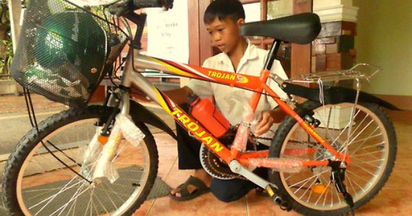 Jhonlee S New Bicycle The Korea Environment Corp Partnered With