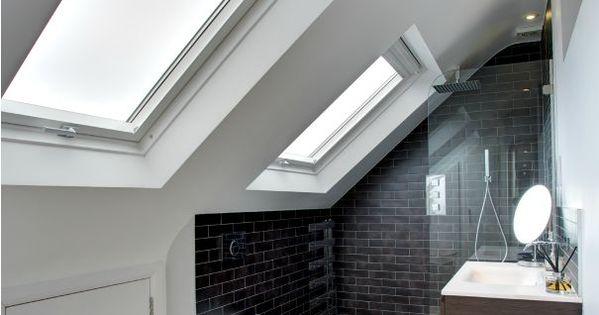 Badkamer idee n lofts attic and interiors - Badkamer mansard ...